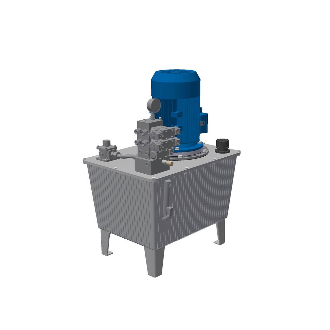 Oleodinamica efesto project for Costruire pressa idraulica